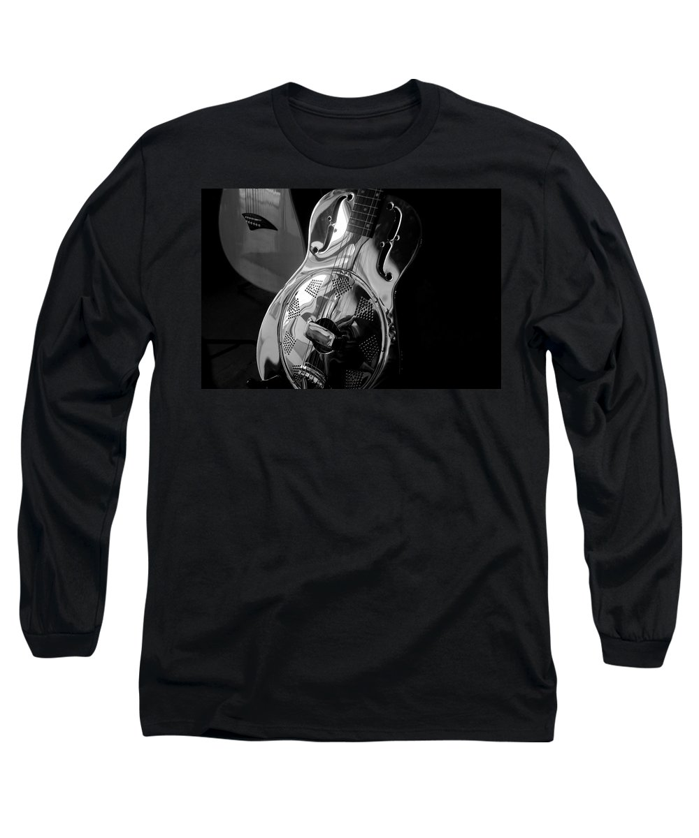 Guitars Long Sleeve T-Shirt featuring the photograph Guitars by David Lee Thompson