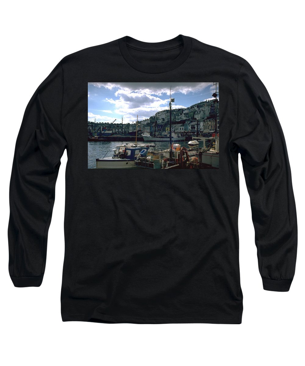 Great Britain Long Sleeve T-Shirt featuring the photograph Harbor II by Flavia Westerwelle