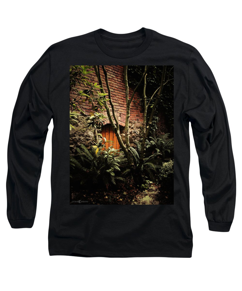 Brick Long Sleeve T-Shirt featuring the photograph Hidden Passage by Tim Nyberg