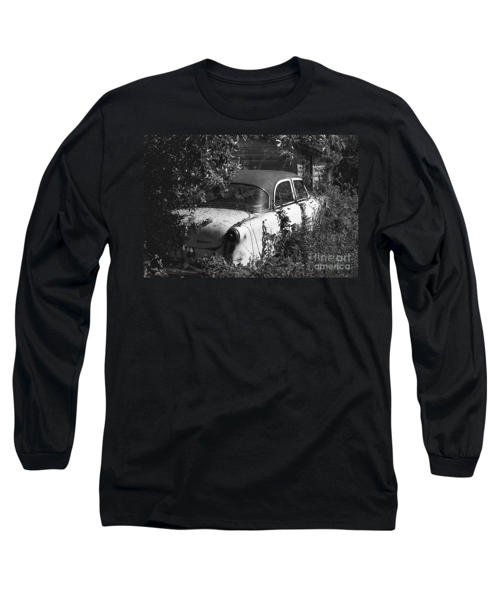 Abandoned Long Sleeve T-Shirt featuring the photograph Hidden Treasure by Richard Rizzo