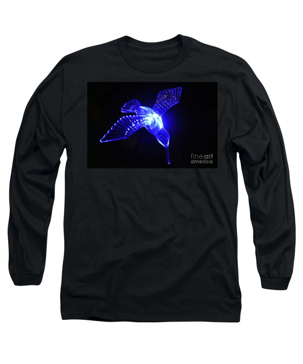 Clay Long Sleeve T-Shirt featuring the photograph Humming Bird Light by Clayton Bruster