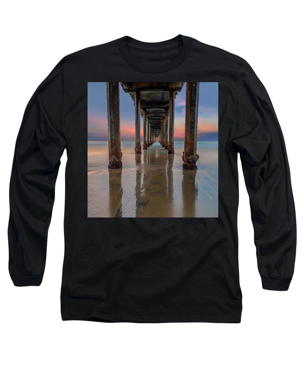 Scripps Pier Photographs Long Sleeve T-Shirts