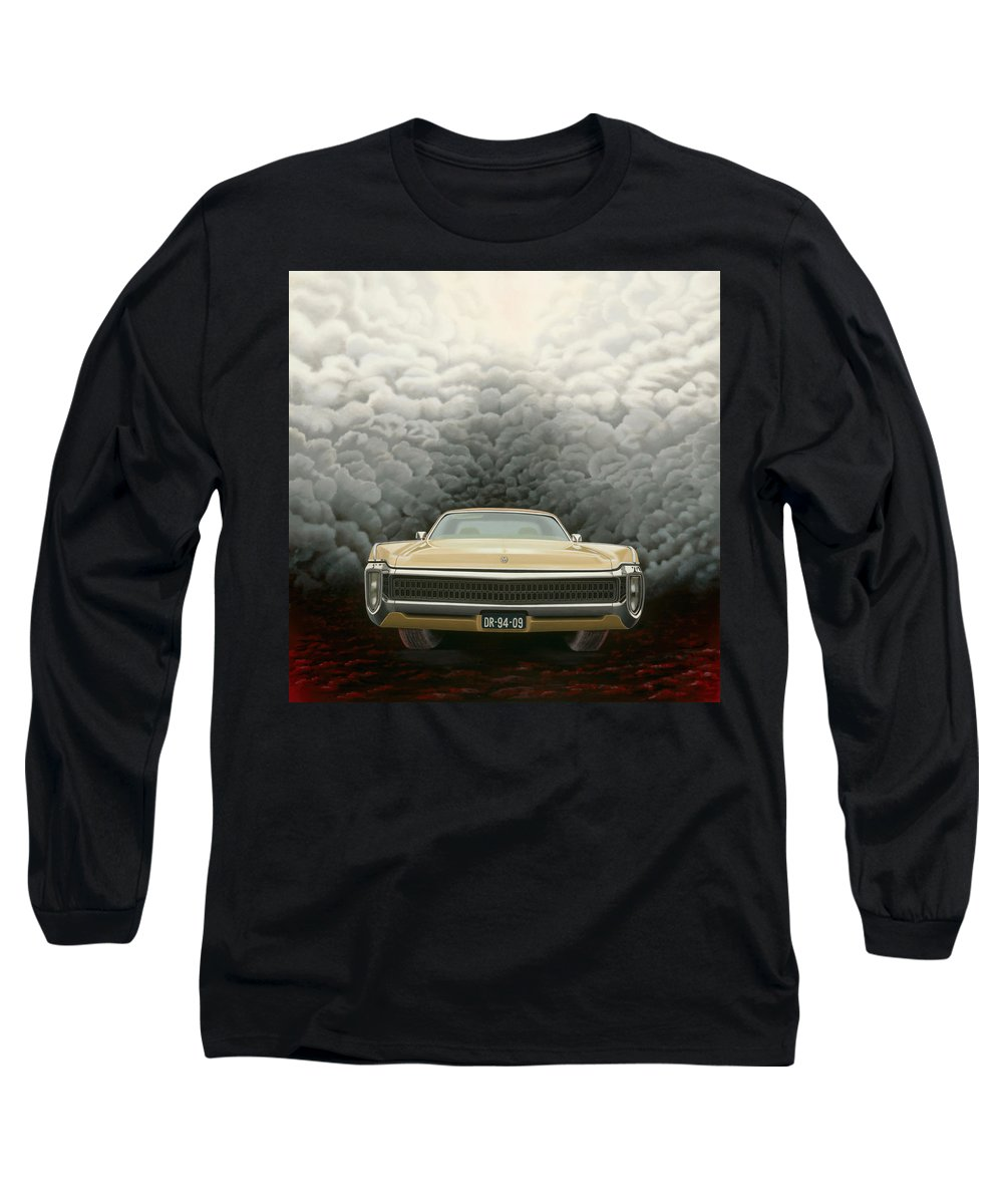 Surreal Long Sleeve T-Shirt featuring the painting Imperial by Patricia Van Lubeck