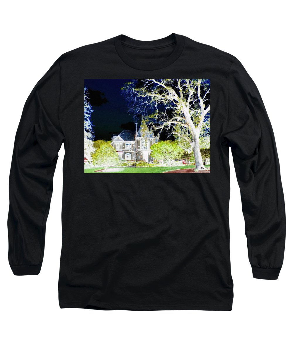 Impressions Long Sleeve T-Shirt featuring the digital art Impressions 9 by Will Borden