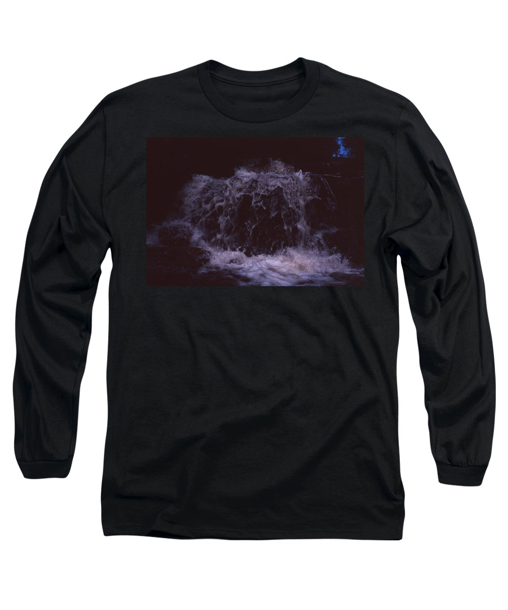Bahia Long Sleeve T-Shirt featuring the photograph In A Bahian Waterfall by Patrick Klauss