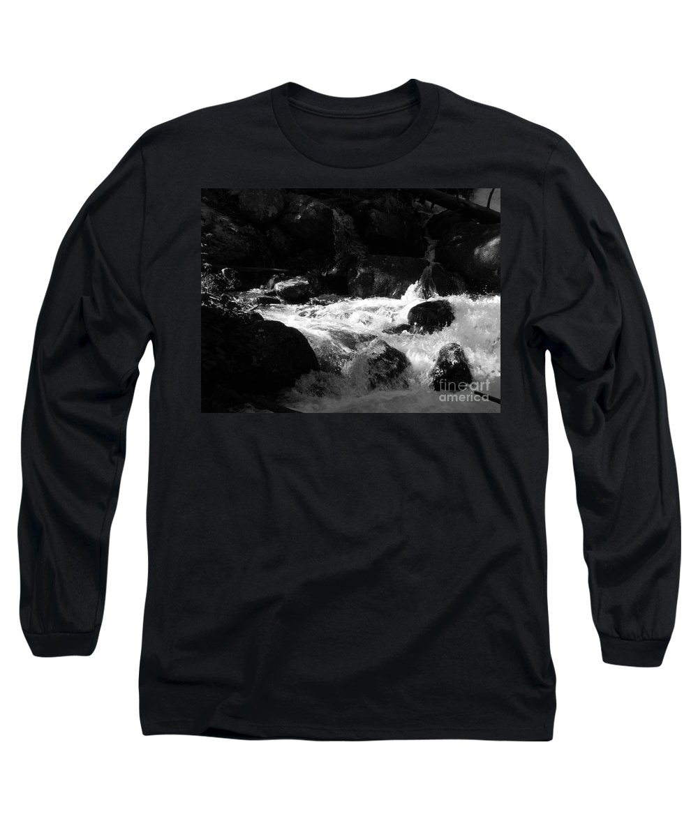 Rivers Long Sleeve T-Shirt featuring the photograph Into The Light by Amanda Barcon