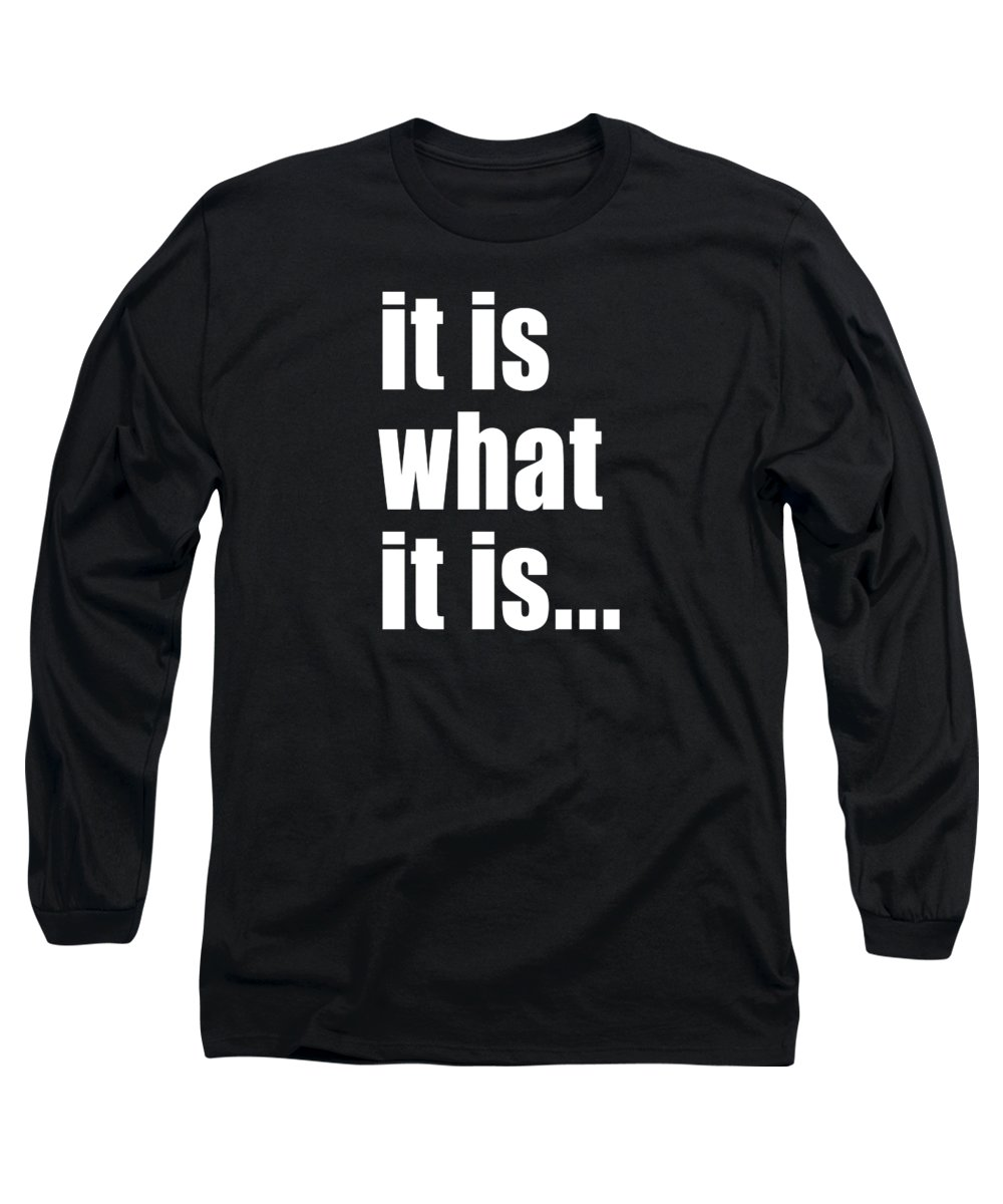 Typography Long Sleeve T-Shirts