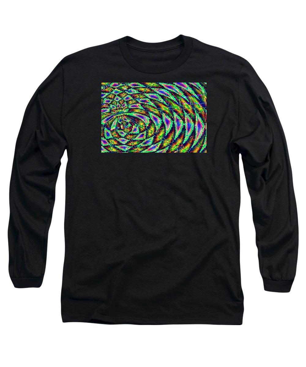 Computer Art Long Sleeve T-Shirt featuring the digital art Kiwi by Dave Martsolf