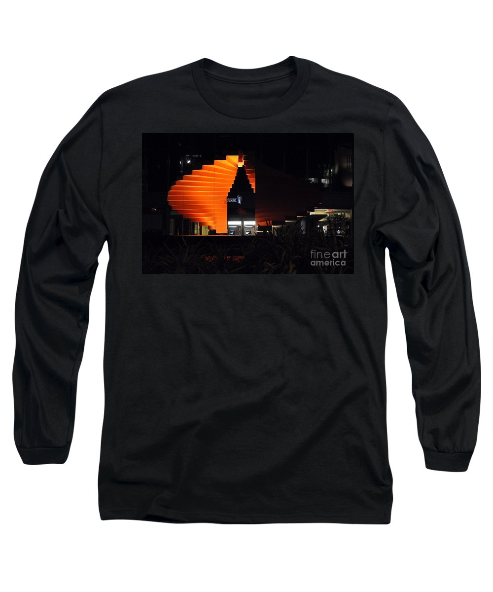 Clay Long Sleeve T-Shirt featuring the photograph L.a. Nights by Clayton Bruster