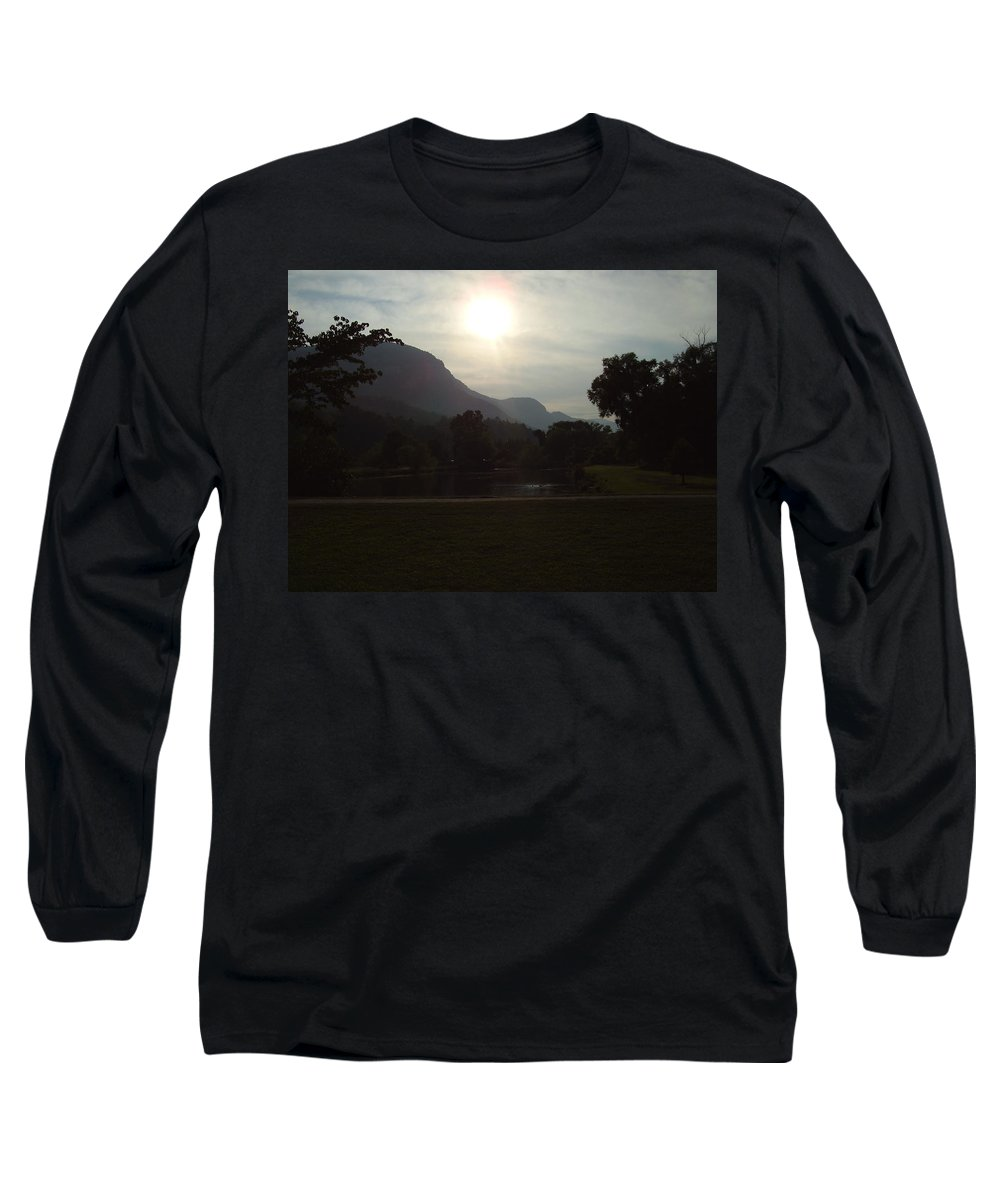 Lake Lure Long Sleeve T-Shirt featuring the photograph Lake Lure by Flavia Westerwelle