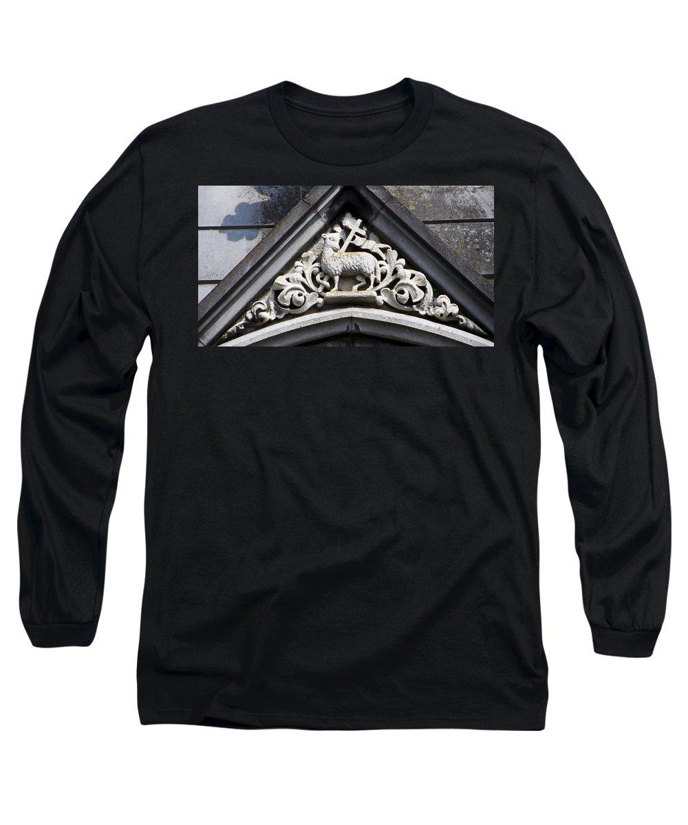 Ireland Long Sleeve T-Shirt featuring the photograph Lamb Of God by Teresa Mucha