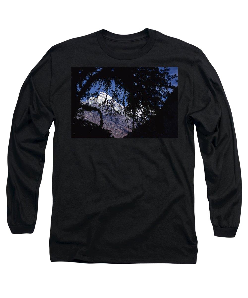 Langtang Long Sleeve T-Shirt featuring the photograph Langtang by Patrick Klauss