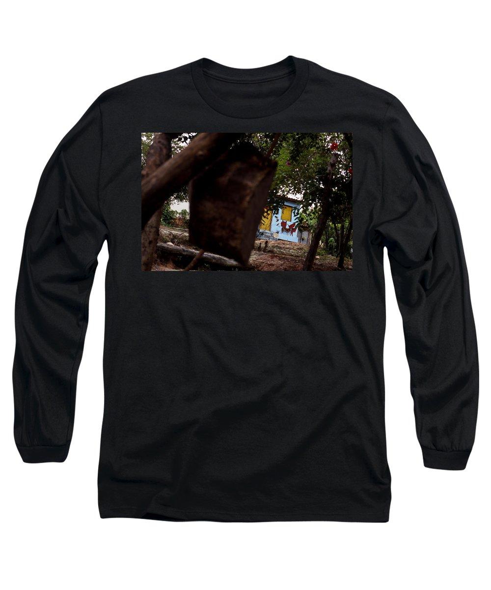 Dog Long Sleeve T-Shirt featuring the photograph Lencois - Dog by Patrick Klauss