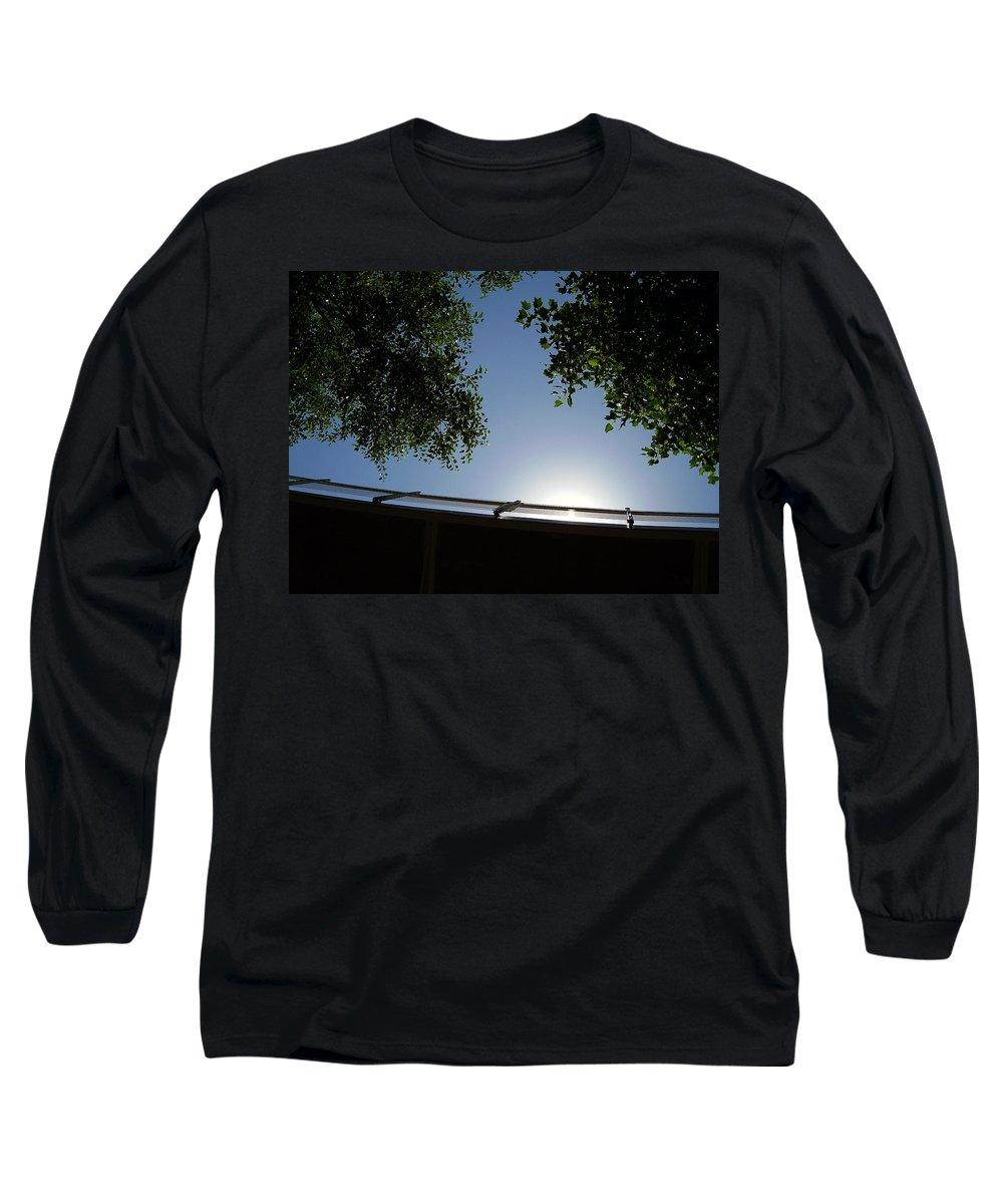 Liberty Bridge Long Sleeve T-Shirt featuring the photograph Liberty Bridge by Flavia Westerwelle