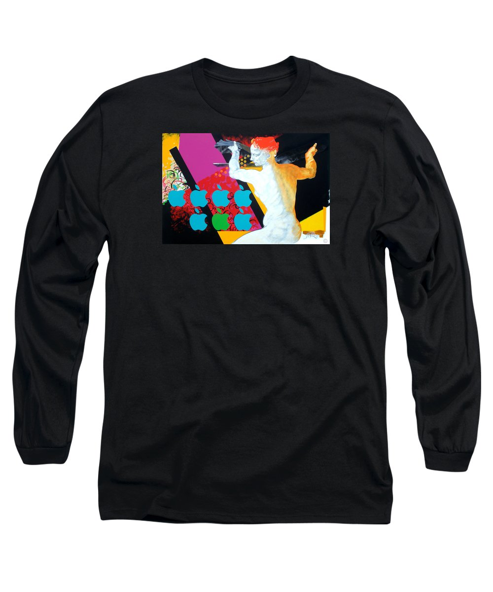 Classic Long Sleeve T-Shirt featuring the painting Libyan by Jean Pierre Rousselet