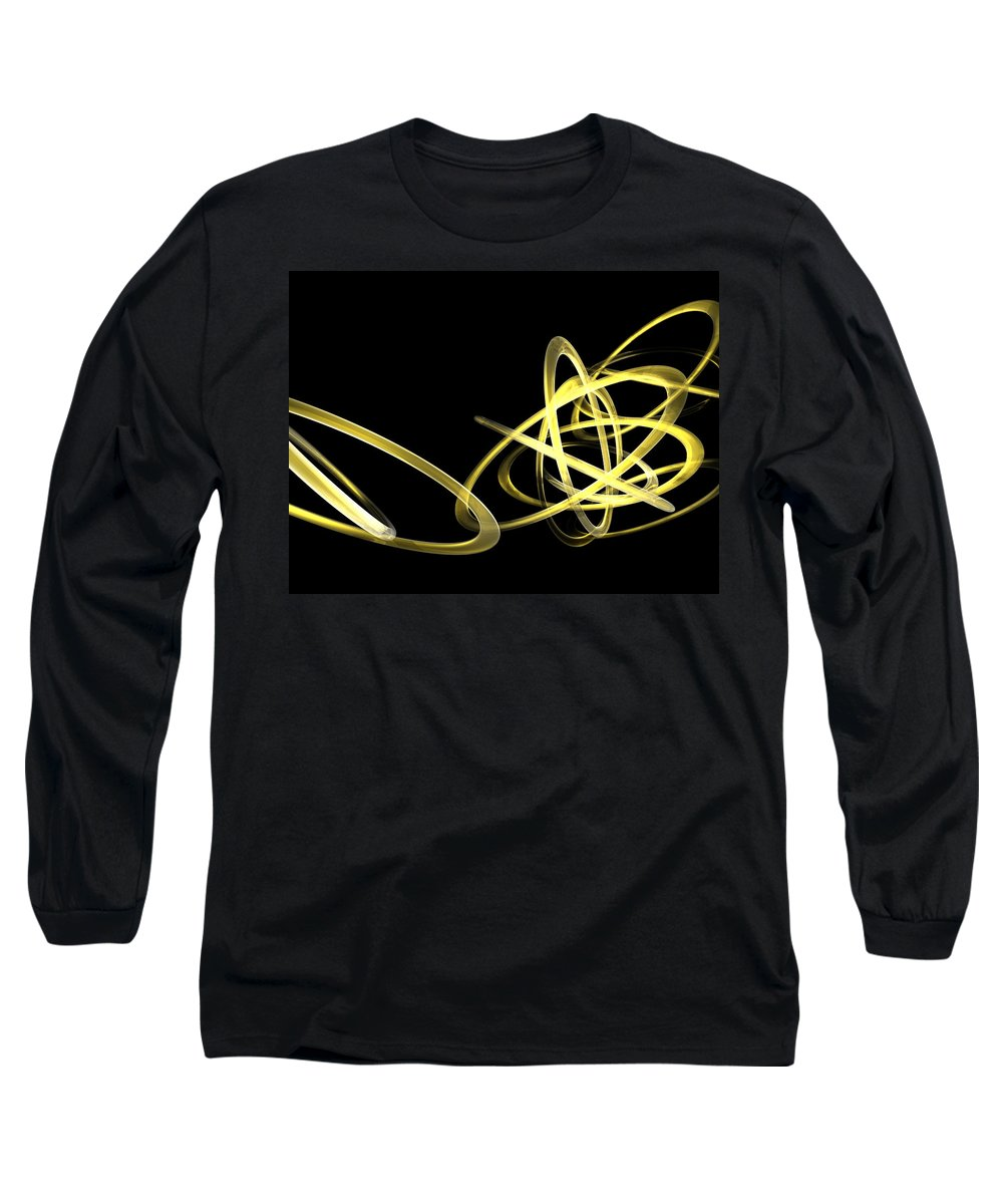 Yellow Long Sleeve T-Shirt featuring the photograph Light Yellow by Scott Piers