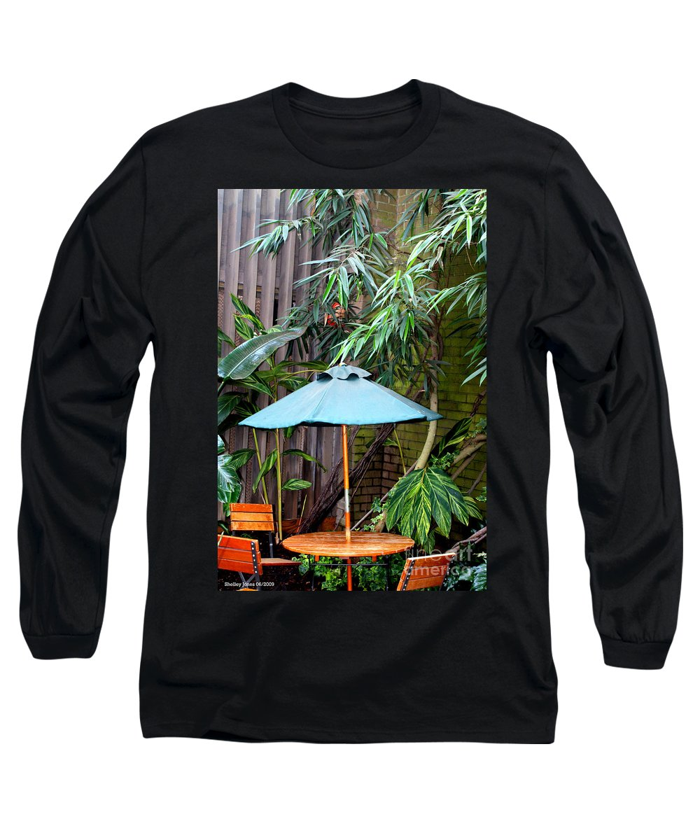 Photography Long Sleeve T-Shirt featuring the photograph Little Oasis by Shelley Jones