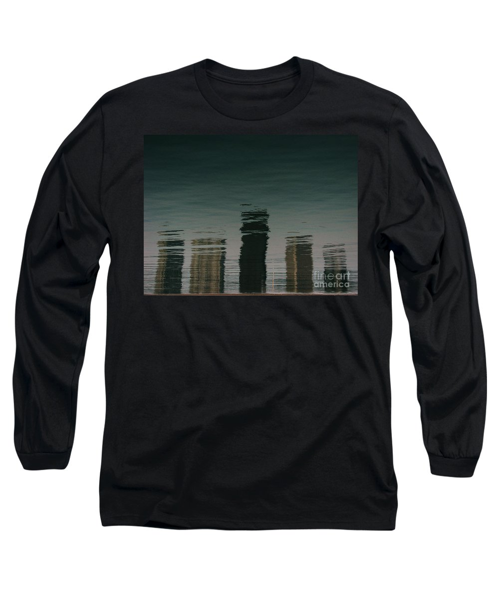 Lake Long Sleeve T-Shirt featuring the photograph Lonely Soul by Dana DiPasquale