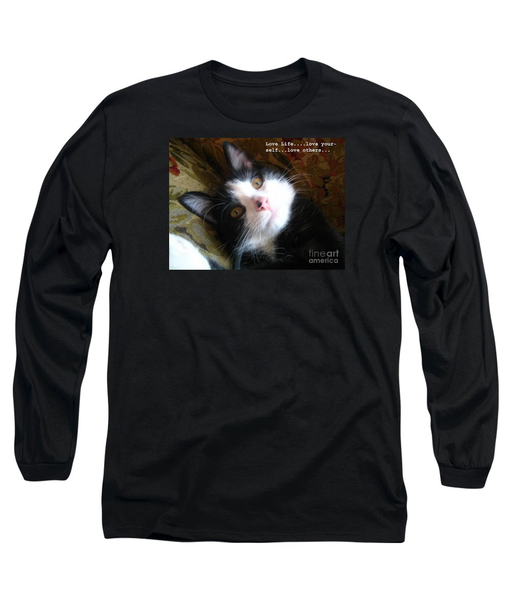 Photograph Long Sleeve T-Shirt featuring the photograph Love Life by Reb Frost