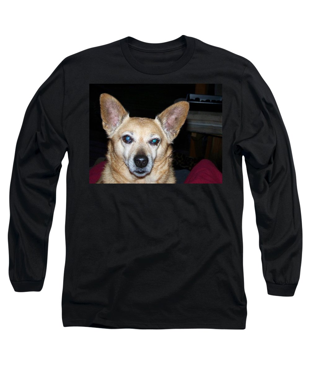 Digital Artwork Long Sleeve T-Shirt featuring the photograph Loyalty by Laurie Kidd