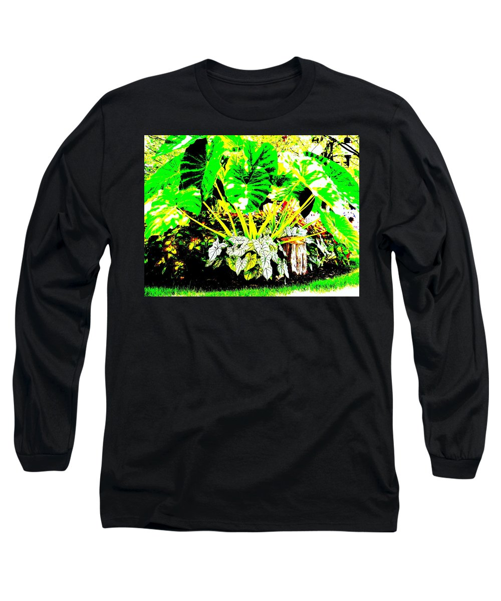 Plants Long Sleeve T-Shirt featuring the photograph Lush Garden by Ed Smith