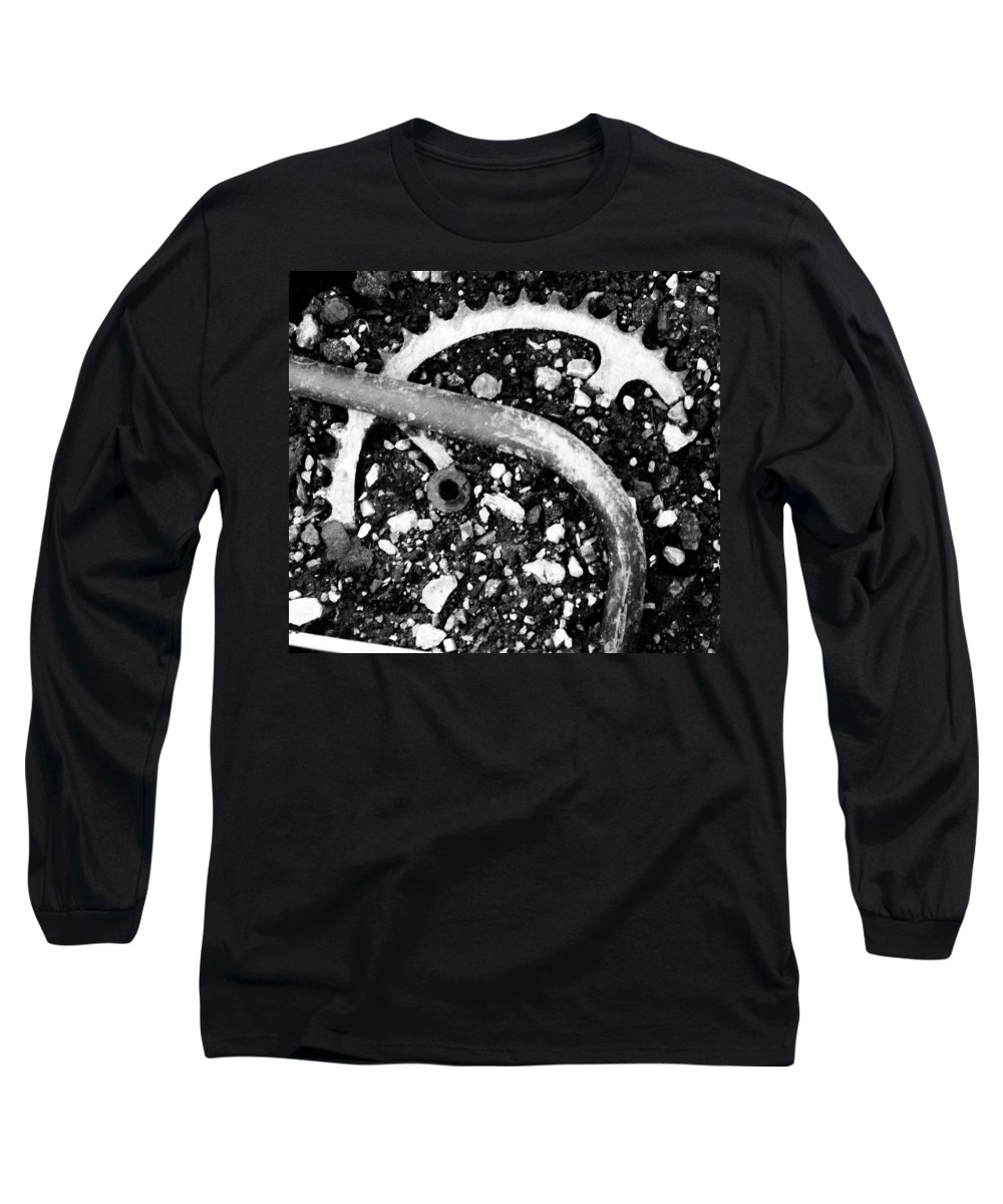Metal Long Sleeve T-Shirt featuring the photograph Metallic Curves by Angus Hooper Iii