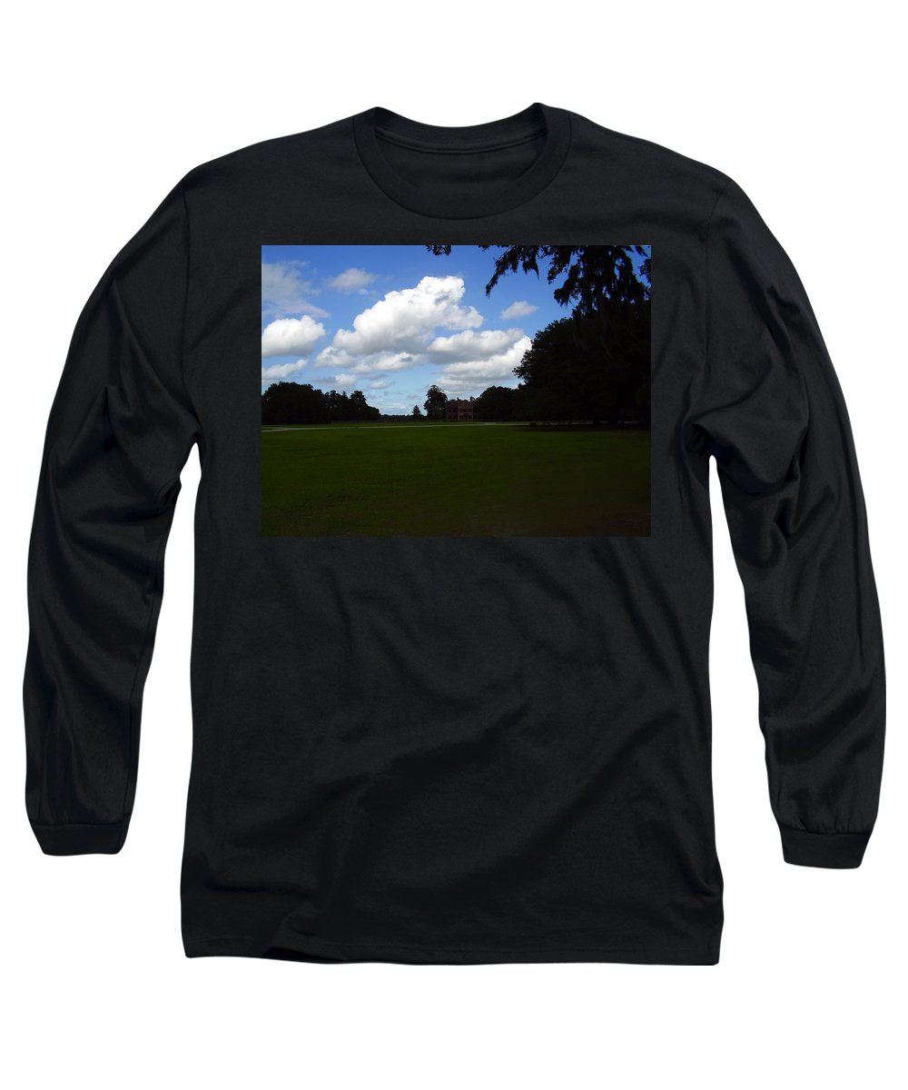 Middleton Place Long Sleeve T-Shirt featuring the photograph Middleton Place by Flavia Westerwelle