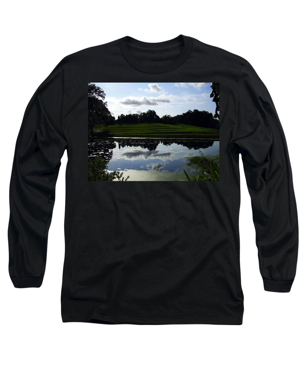 Middleton Place Long Sleeve T-Shirt featuring the photograph Middleton Place II by Flavia Westerwelle