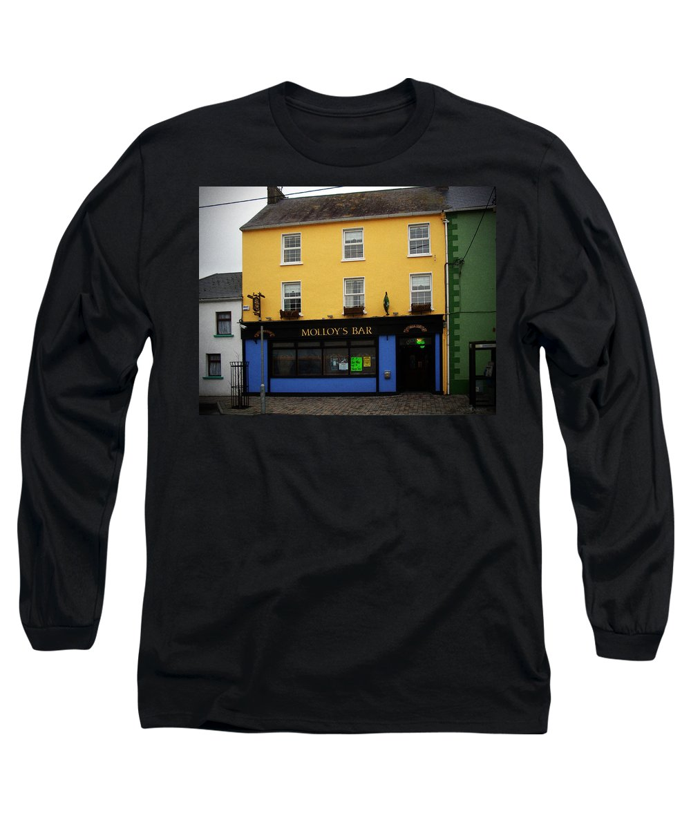 Pub Long Sleeve T-Shirt featuring the photograph Molloy by Tim Nyberg