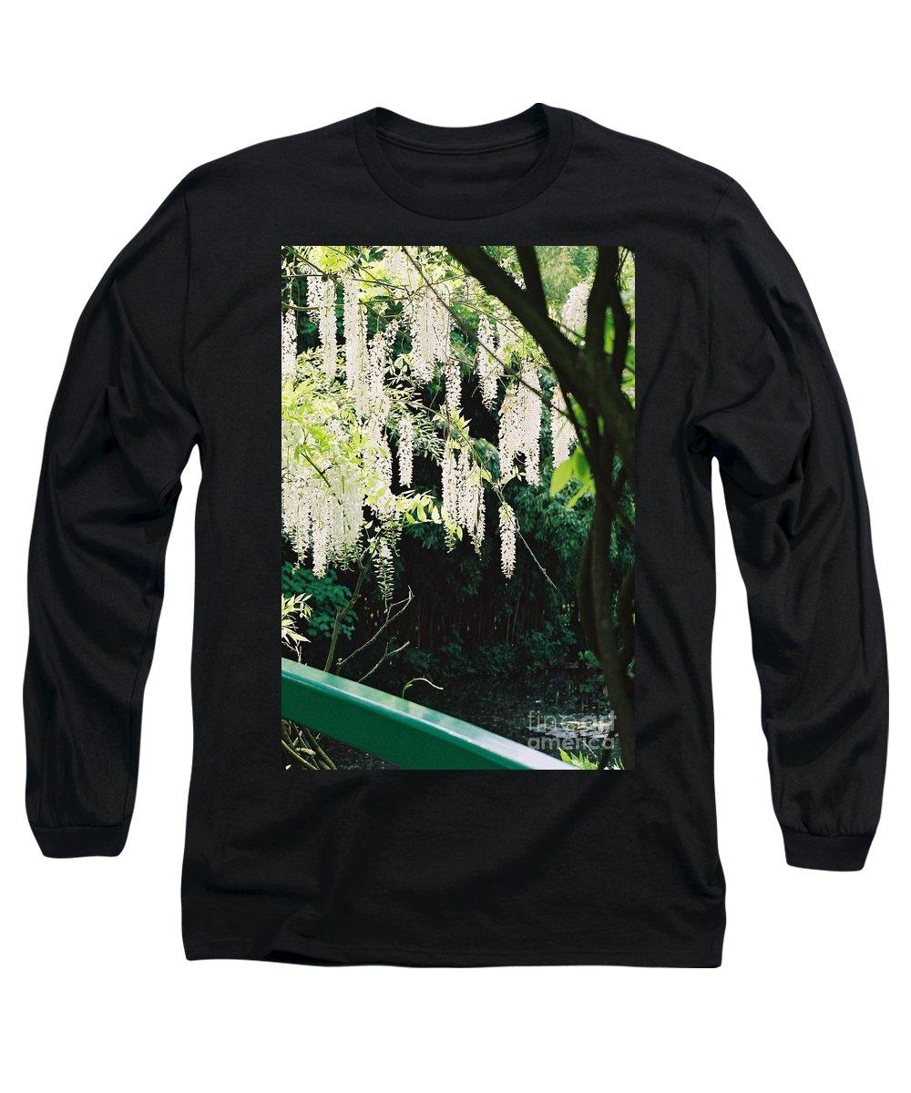 Monet Long Sleeve T-Shirt featuring the photograph Monet's Garden Delights by Nadine Rippelmeyer