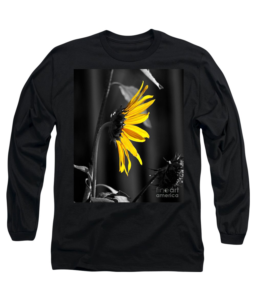 Clay Long Sleeve T-Shirt featuring the photograph Morning Sun by Clayton Bruster