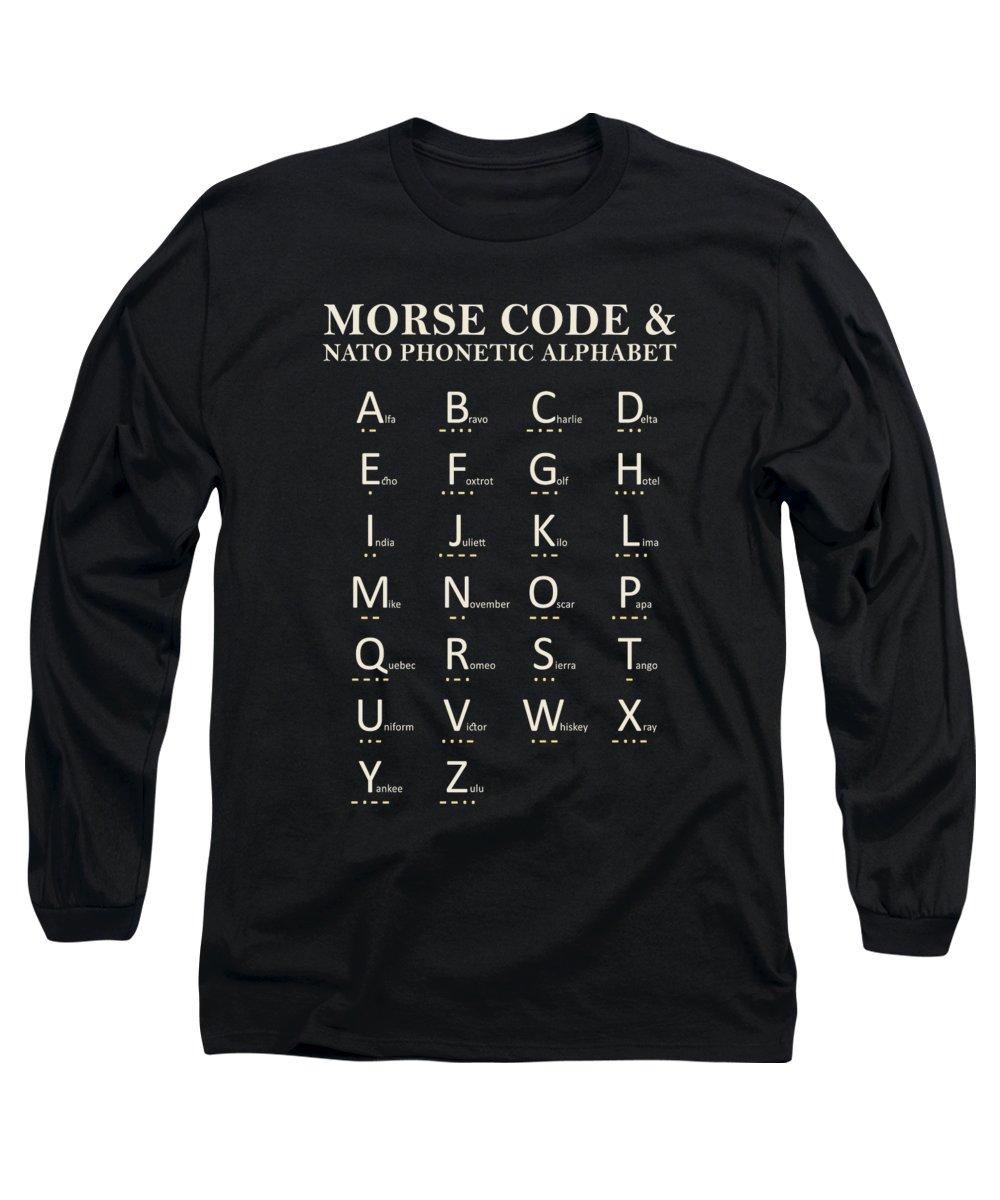 Alphabet Long Sleeve T-Shirts