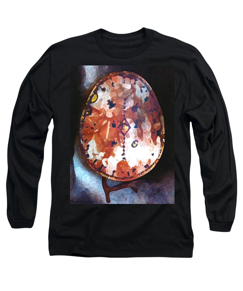 Magic Long Sleeve T-Shirt featuring the photograph My Magic Drum by Merja Waters