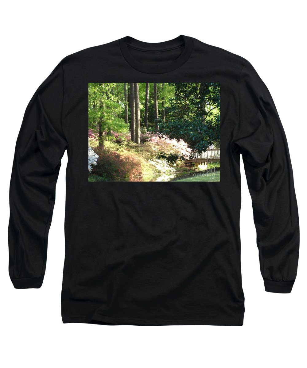 Photography Long Sleeve T-Shirt featuring the photograph Nature by Shelley Jones