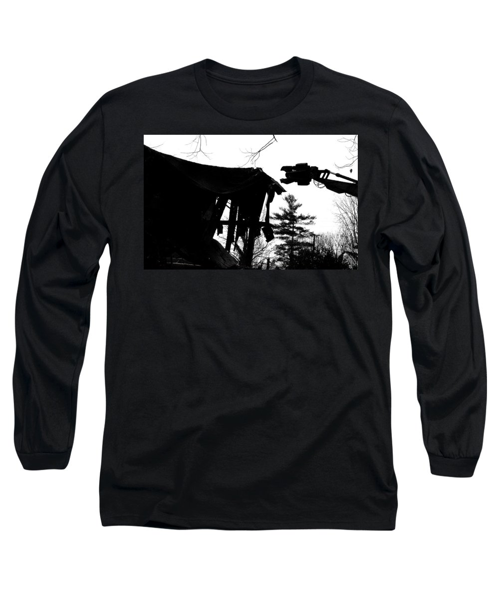 Machine Long Sleeve T-Shirt featuring the photograph Nessie by Jean Macaluso