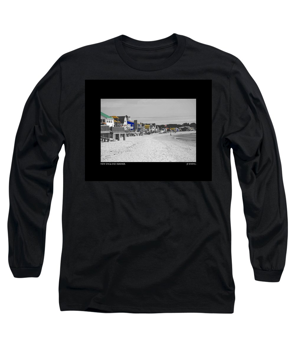 Summer Long Sleeve T-Shirt featuring the photograph New England Summer by J Todd
