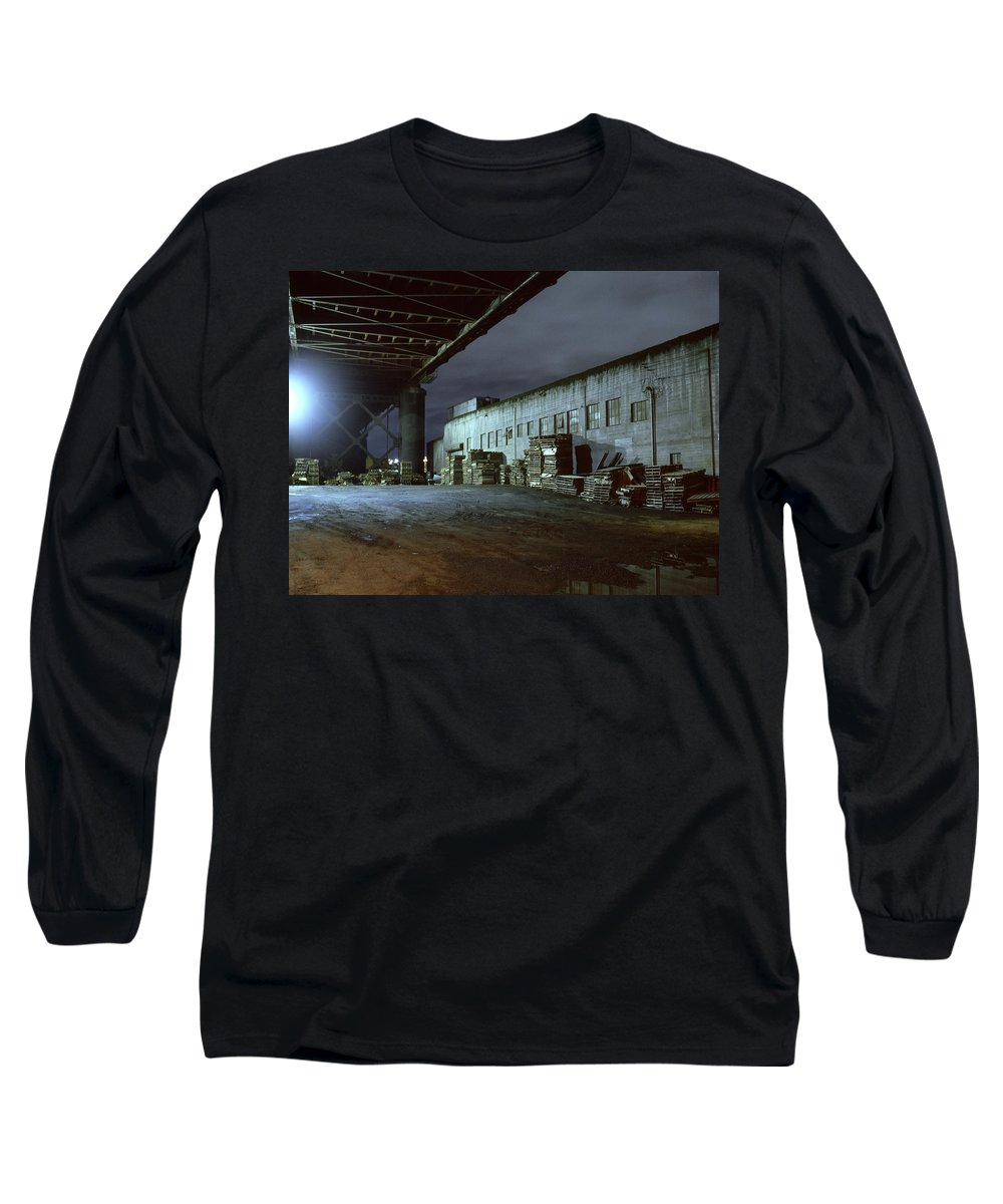 Nightscape Long Sleeve T-Shirt featuring the photograph Nightscape 1 by Lee Santa