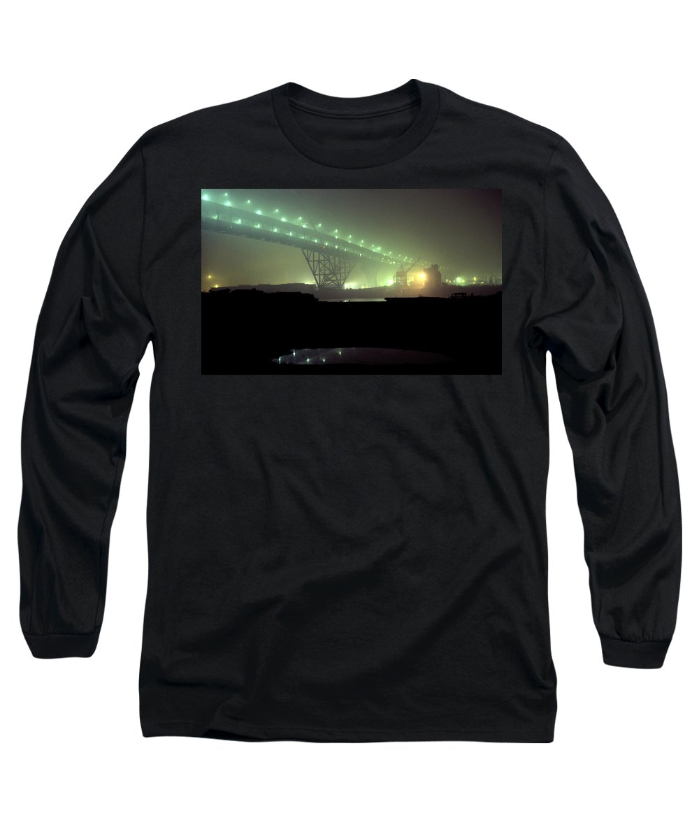 Night Photo Long Sleeve T-Shirt featuring the photograph Nightscape 3 by Lee Santa