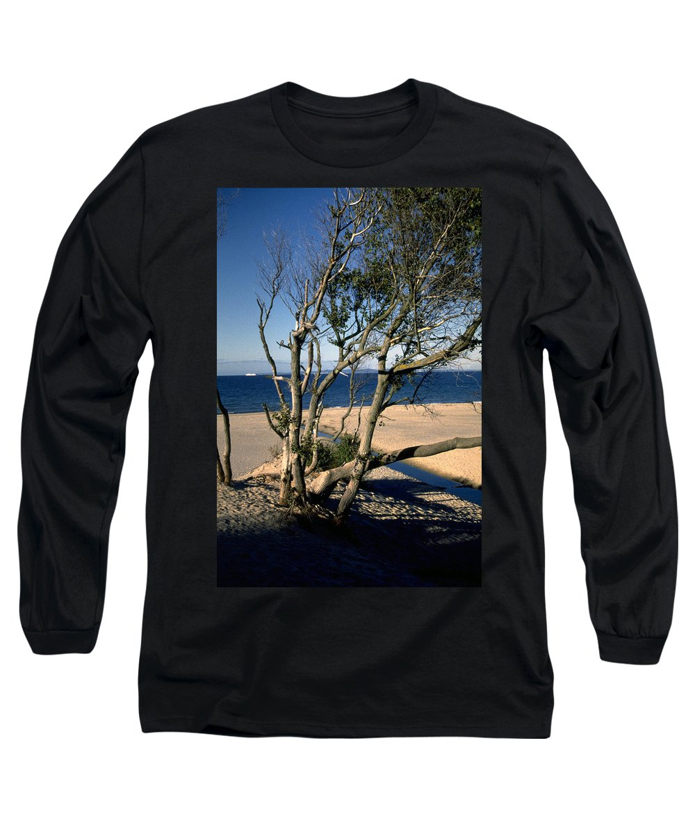 Denmark Long Sleeve T-Shirt featuring the photograph Nordic Beach by Flavia Westerwelle