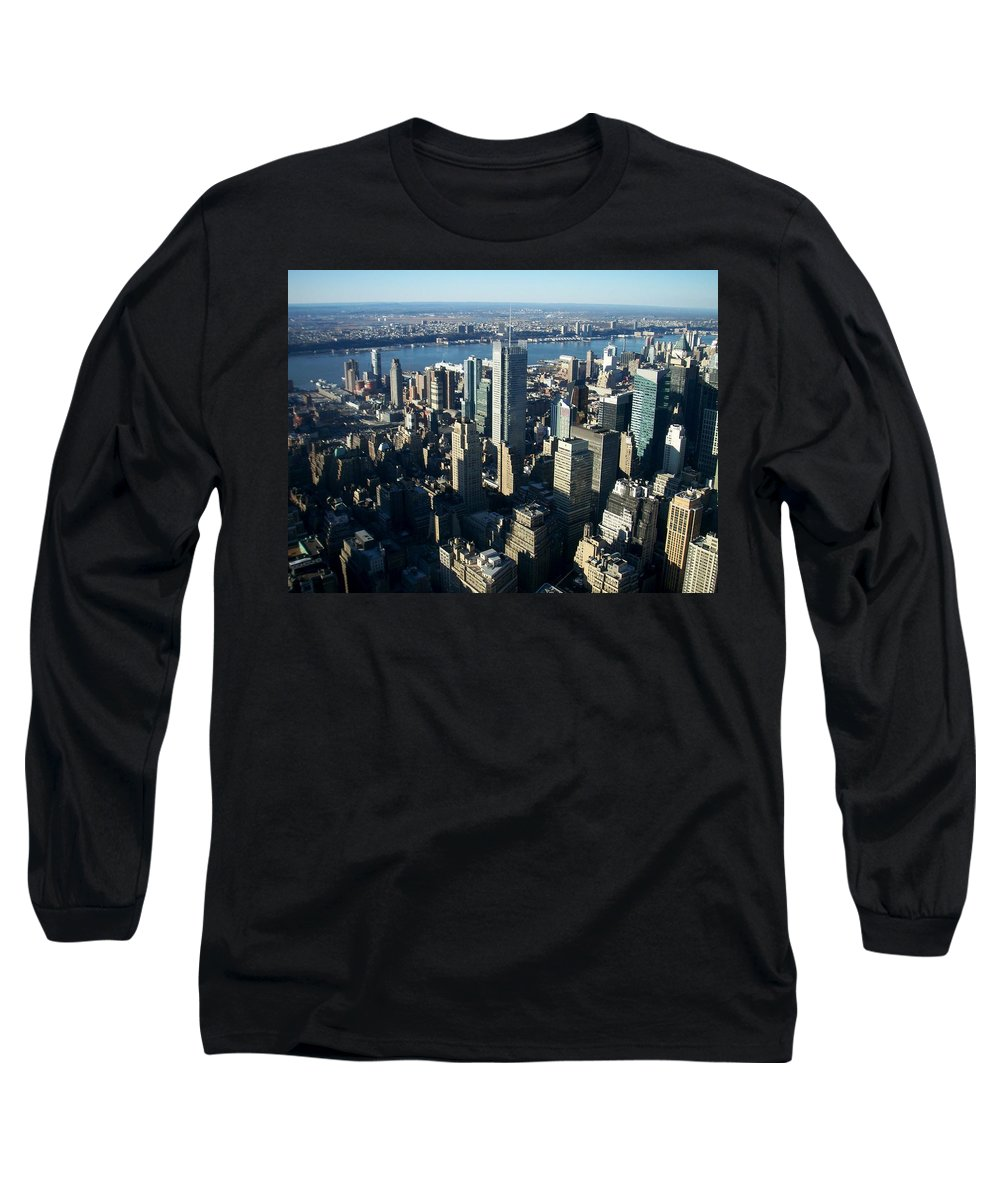 Nyc Long Sleeve T-Shirt featuring the photograph Nyc 1 by Anita Burgermeister