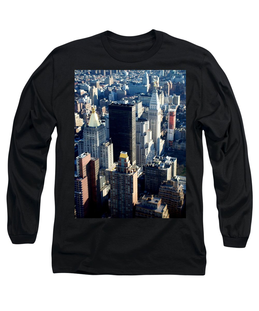 Nyc Long Sleeve T-Shirt featuring the photograph Nyc 2 by Anita Burgermeister