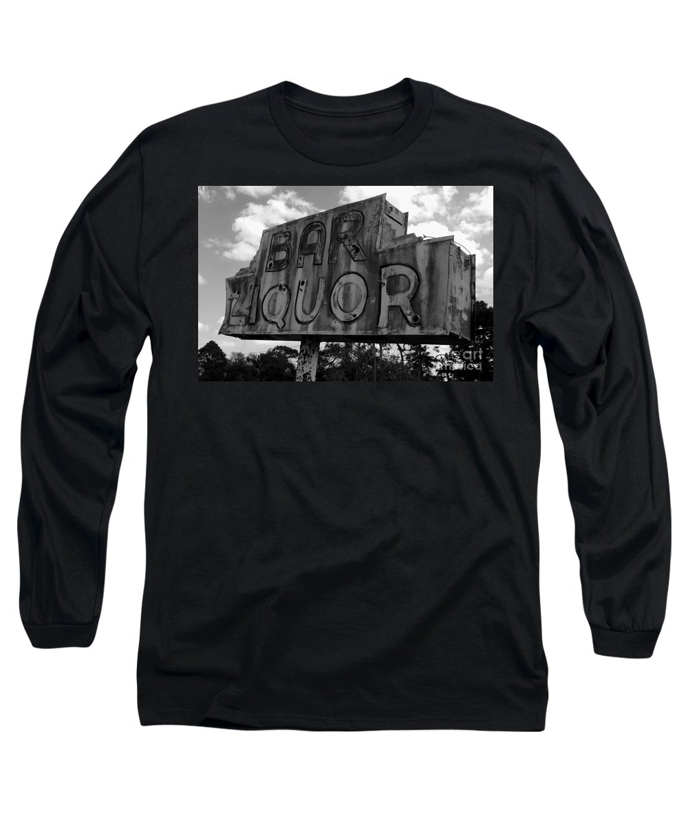 Bar Long Sleeve T-Shirt featuring the photograph Oasis by David Lee Thompson