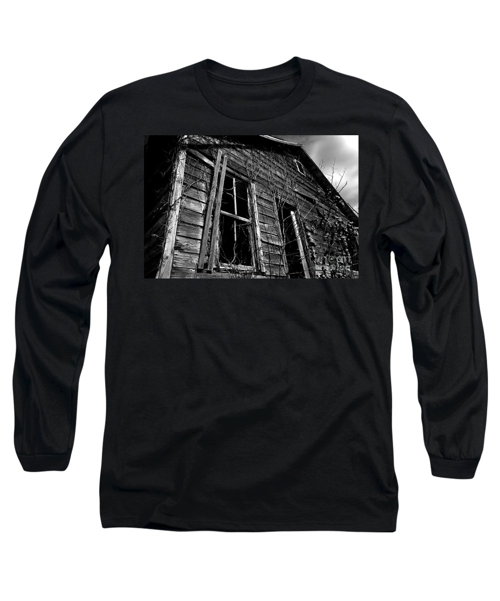 old House Long Sleeve T-Shirt featuring the photograph Old House by Amanda Barcon
