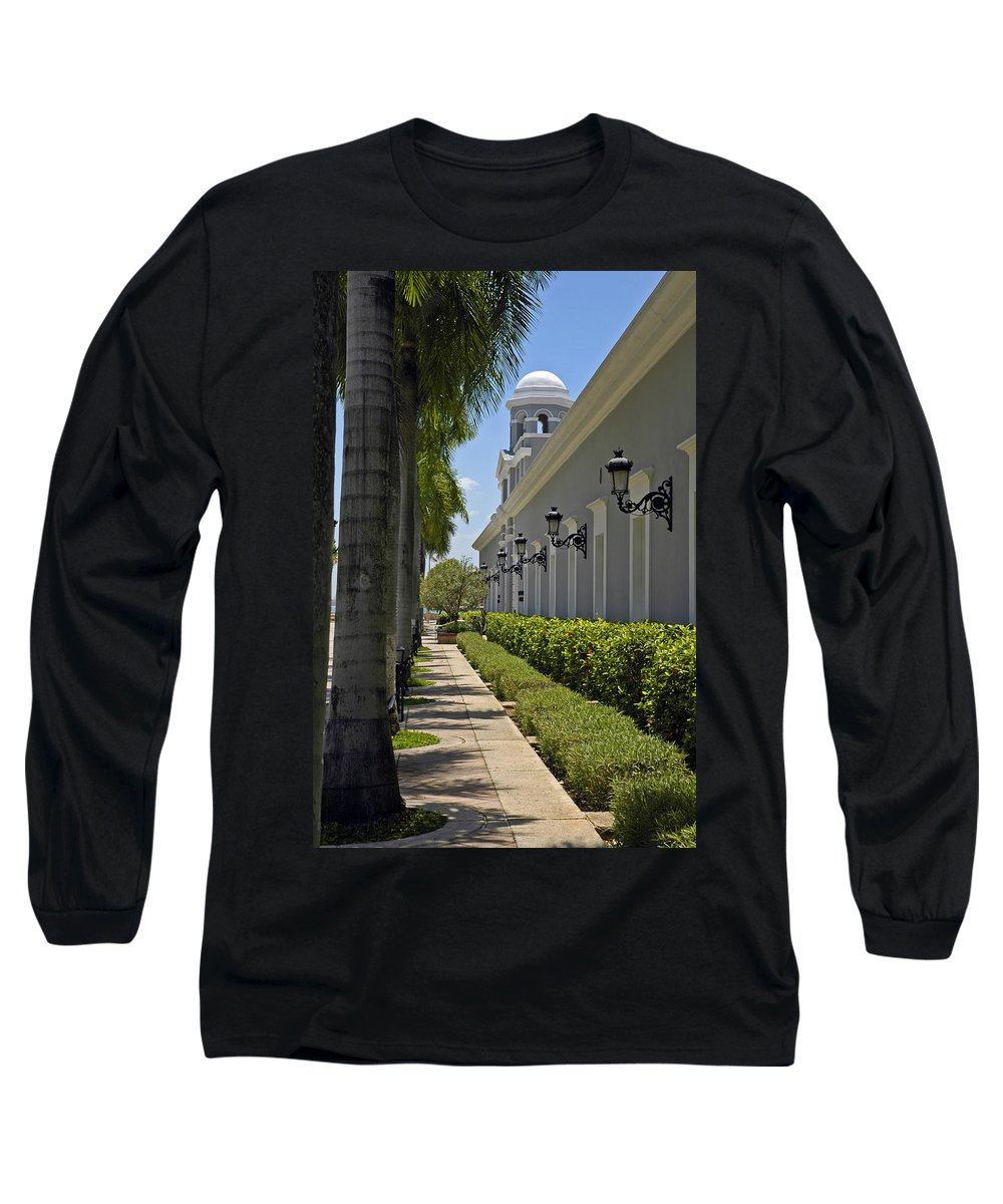 Travel Long Sleeve T-Shirt featuring the photograph Old San Juan Puerto Rico by Tito Santiago