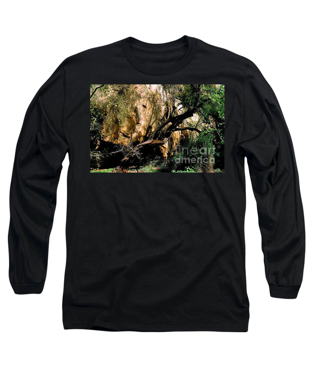Trees Long Sleeve T-Shirt featuring the photograph Old Tree by Kathy McClure