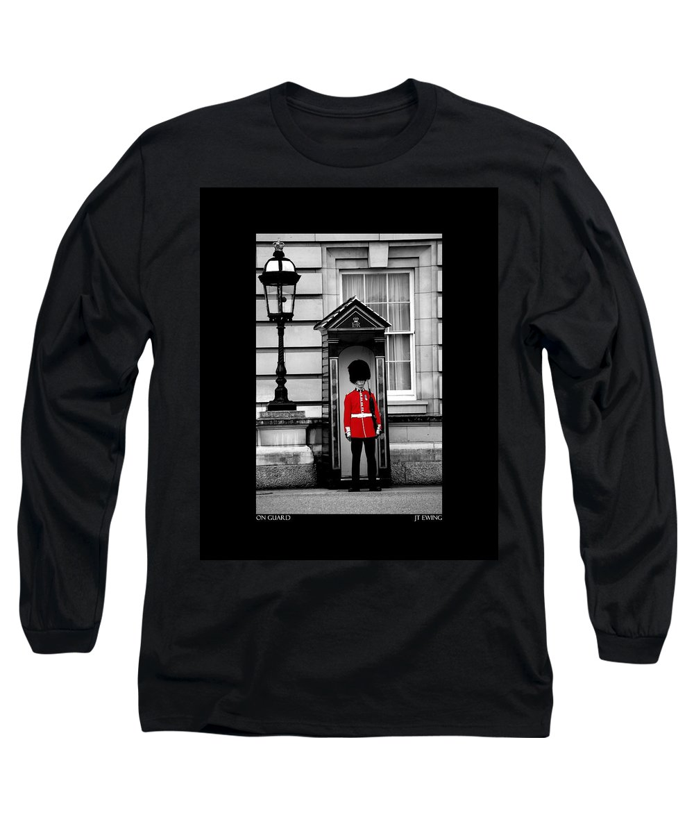 London Long Sleeve T-Shirt featuring the photograph On Guard by J Todd