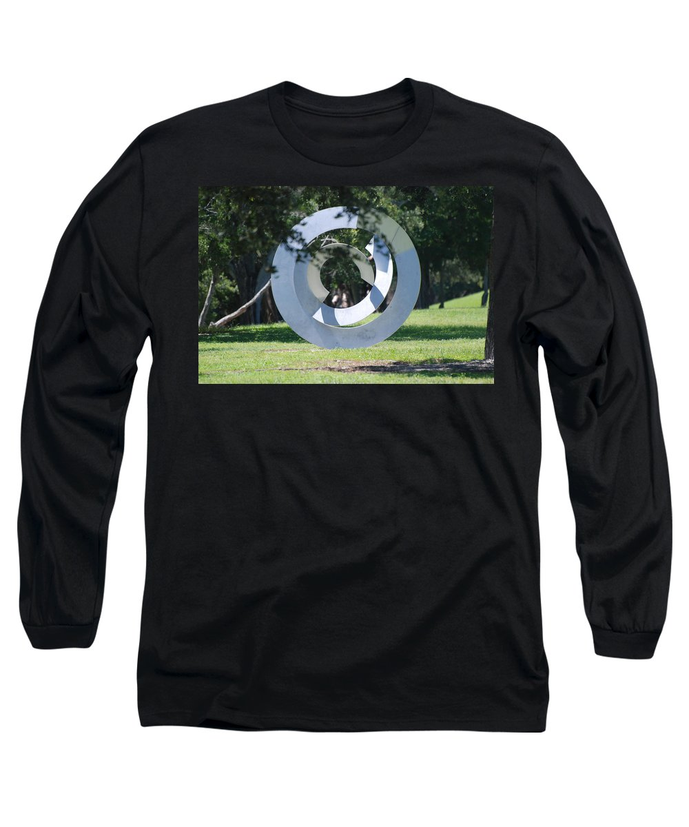 Landscape Long Sleeve T-Shirt featuring the photograph Orbs by Rob Hans