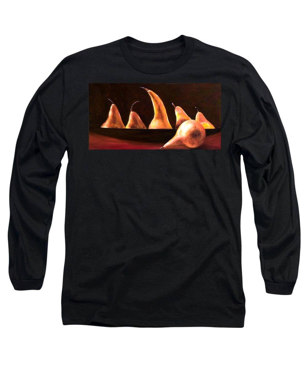 Still Life Long Sleeve T-Shirt featuring the painting Overboard by Shannon Grissom