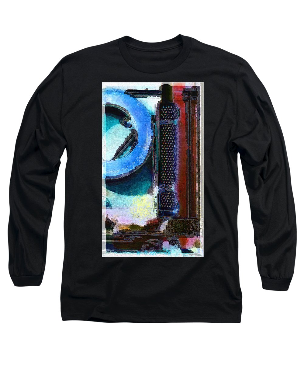 Abstract Long Sleeve T-Shirt featuring the photograph panel one from Centrifuge by Steve Karol