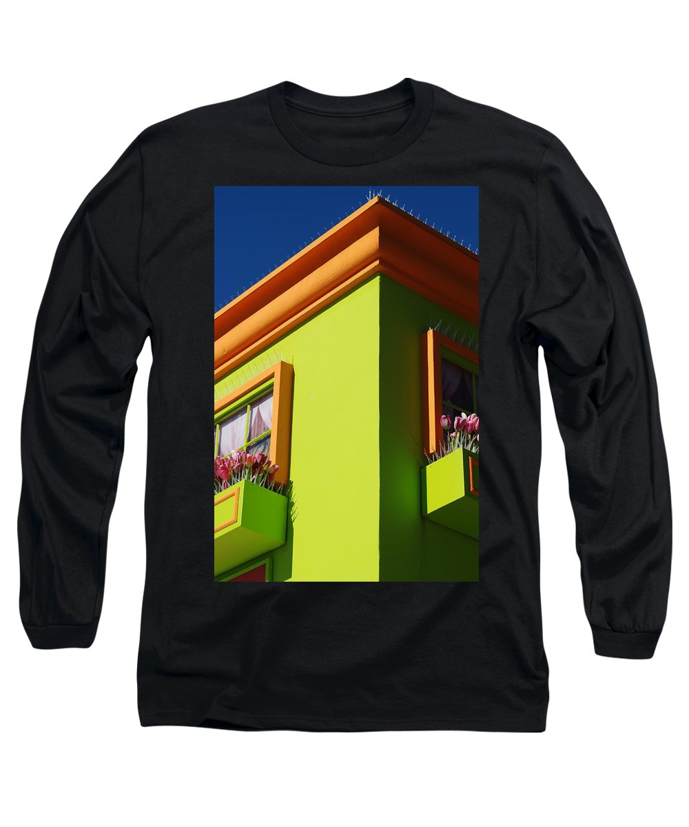 Sky Long Sleeve T-Shirt featuring the photograph Pastle Corners by Rob Hans